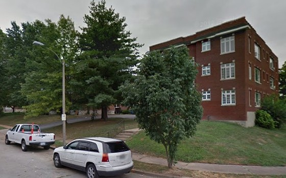 Apartment where the suspect and stolen goods were located. - VIA GOOGLE MAPS