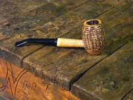 Production of big corncob pipes will be cut in half this year - IMAGE VIA