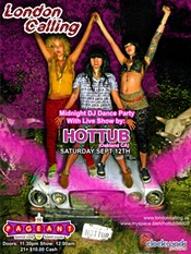 The busy flier for Hottub Saturday at the Pageant. (Click for larger version.)