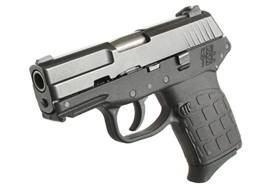 A Kel Tec PF-9 handgun, the type of weapon used in the attack. - COURTESY SLMPD