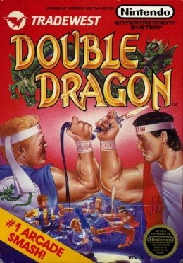 Any fight with a knife and baseball bat requires a Double Dragon graphic. - IMAGE VIA
