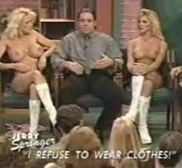 A Budweiser calendar girl who reportedly attracted Busch IV's attention later found herself on an episode of Jerry Springer.