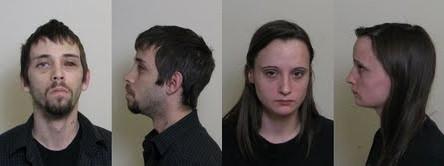 William Noe, 25, and girlfriend Ashley Welch, 22