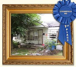 This Missouri home won a similar contest in Springfield.