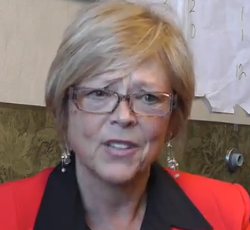 Republican Rep. Anne Zerr expresses support for non-discrimination bill. - VIA YOUTUBE