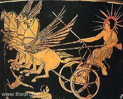 Didya know that Phaethon was the son of the Greek god, Helios?