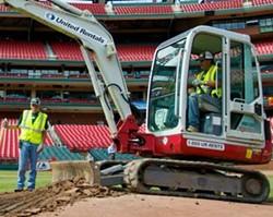 Busch Stadium's transformation. - VIA