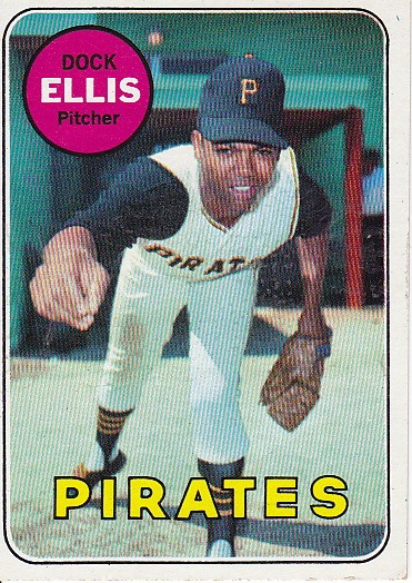 Dock Ellis' rookie card from 1969.