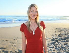 Amber Lyon. - VIA FACEBOOK