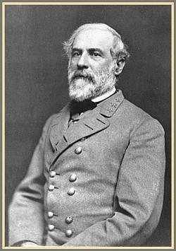 Robert E. Lee's 1863 portrait.
