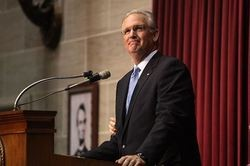 Gov. Nixon called for an end to LGBT discrimination during State of the State Address this year.