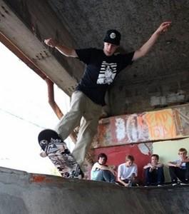 Build a skate park, change the world! - COURTESY OF KHVT (KINGSHIGHWAY VIGILANTE TRANNY)