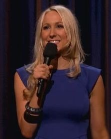 Nikki Glaser doing her act on Conan, 9-18-2012 - IMAGE VIA