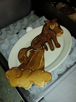 A special Dancake creation - NANCY STILES