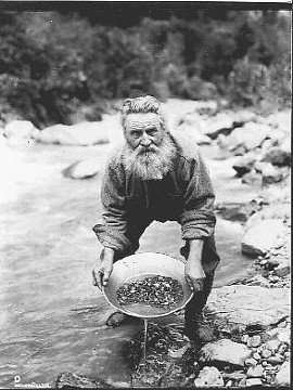 Get it? 'Cause he's a PROSPECTor? Yeah, I know. I'll try harder next time. Promise.