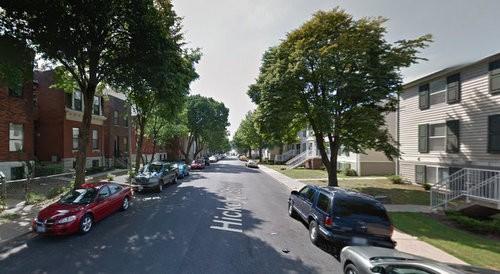 The 2600 block of Hickory Street, where police say four men shot Romell Clemons. - GOOGLE MAPS