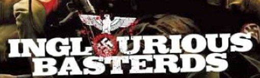 The Inglourious Basterds logo from the movie poster.