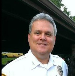 St. Louis Country Police Chief Tim Fitch - VIA @CHIEFTIMFITCH