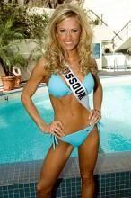 Barry Zito's new bride, 2007 Miss Missouri Amber Seyer. - IMAGE VIA