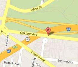 This is where Tequila Sanford, 26, was fatally shot in the head this morning - IMAGE VIA