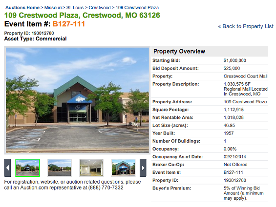 Bid for Crestwood Court online. - AUCTION.COM