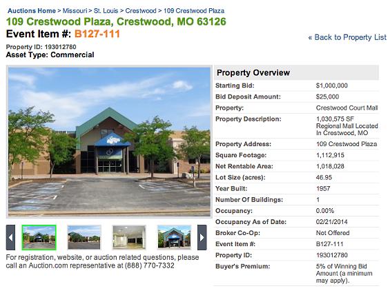 Bid for Crestwood Court online. - AUCTION.COM