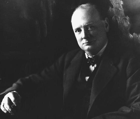 Winston Churchill. - VIA FACEBOOK / NATIONAL CHURCHILL MUSEUM