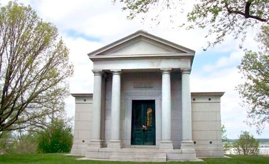 The Lemp Mausoleum in Bellefontaine Cemetery. - CHRIS NAFFZIGER
