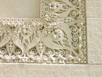 Detail of Wainwright Tomb. - CHRIS NAFFZIGER