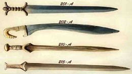 Bronze age weaponry: Get it? Anyone?