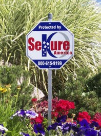 Another reason we believe the yard signs are better than the actual alarm.