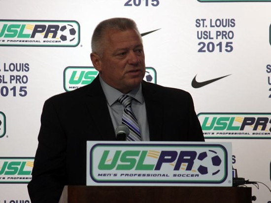 Dale Schilly, the team's head coach. - DANNY WICENTOWSKI