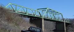 The old Tuscumbia Bridge soon to go bye-bye.