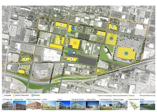 A map of the future IKEA site. - IKEA