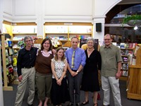 Leibman, far left, and the Left Bank family. - FLICKR.COM/PHOTOS/VIDEOCRIME
