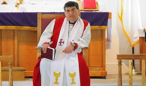 Martin Sigillito during his time as a priest with the Anglican American Church. - RFT PHOTO