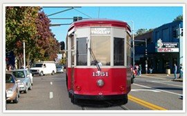 U. City provocateur Andrew Wool's latest plan is to stop the Loop Trolley. - IMAGE VIA
