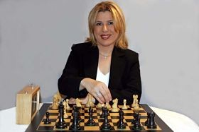 Susan Polgar, Webster University's new queen of chess. - IMAGE VIA
