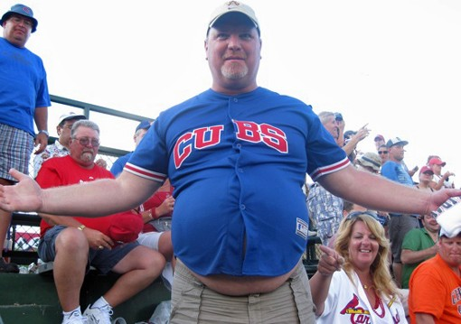 There are five really good reasons why the Cubs are going to win the NL Central in '09, and there are five pretty good reasons why they won't. There are 100 reasons why this guy shouldn't be wearing that jersey.