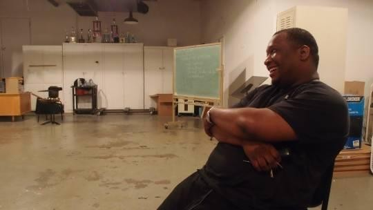 Band leader and music instructor Delano Redmond helps keep East St. Louis' rich tradition of jazz alive. - ALBERT SAMAHA