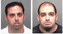 David Peer and Moshe Aharoni accused of defrauding Missourians. - PINELLA COUNTY SHERIFF VIA ANGIE'S LIST