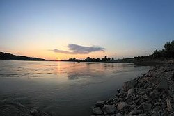 My! What a big river you have, Missouri.