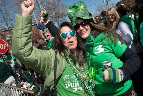 Happy St. Patrick's Day! - PHOTOS BY JON GITCHOFF