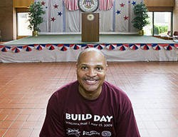 Mayor Alvin Parks did not have much to smile about Wednesday. - PHOTO: JENNIFER SILVERBERG