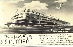 A 1940s poster advertising the Admiral.