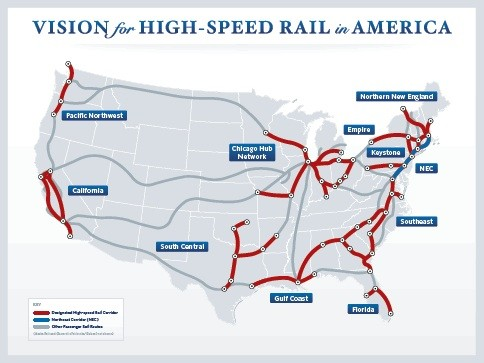 Good luck hopping a high-speed train to Wyoming. - IMAGE VIA