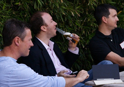 Even the members of the panel found themselves drinking to get through it. - BILL STREETER