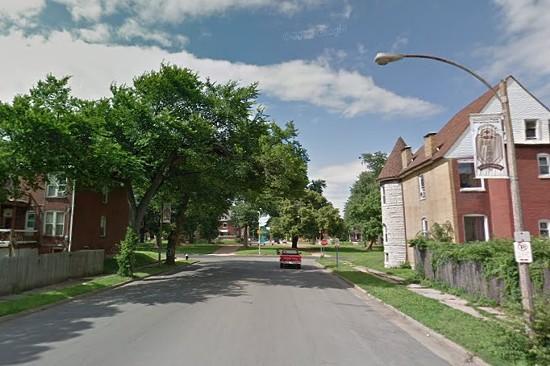 Fountain Park street where the victim was found. - VIA GOOGLE MAPS