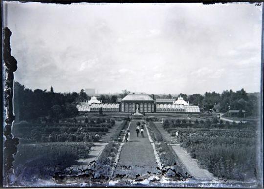This photo shows an early glimpse of the Missouri Botanical Garden circa 1900. - COURTESY OF JOHN FOSTER