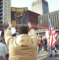 If you haven't heard (which is likely), Friday's rally drew 4,500 to Kiener Plaza - IMAGE VIA SHOW ME PROGRESS